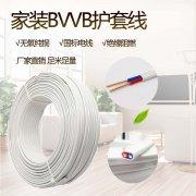金环宇电线电缆2芯护套线 BVVB0.5/0.75/1/1.5国标纯铜