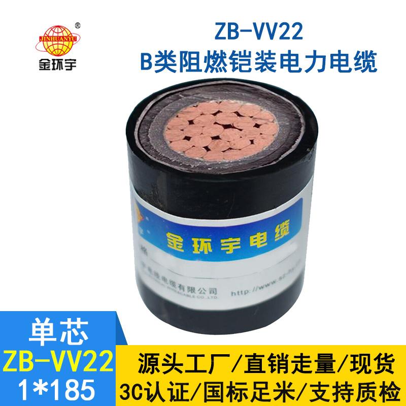 金环宇电缆 vv22铠装电缆 ZB-VV22-185 深圳阻燃电缆价格